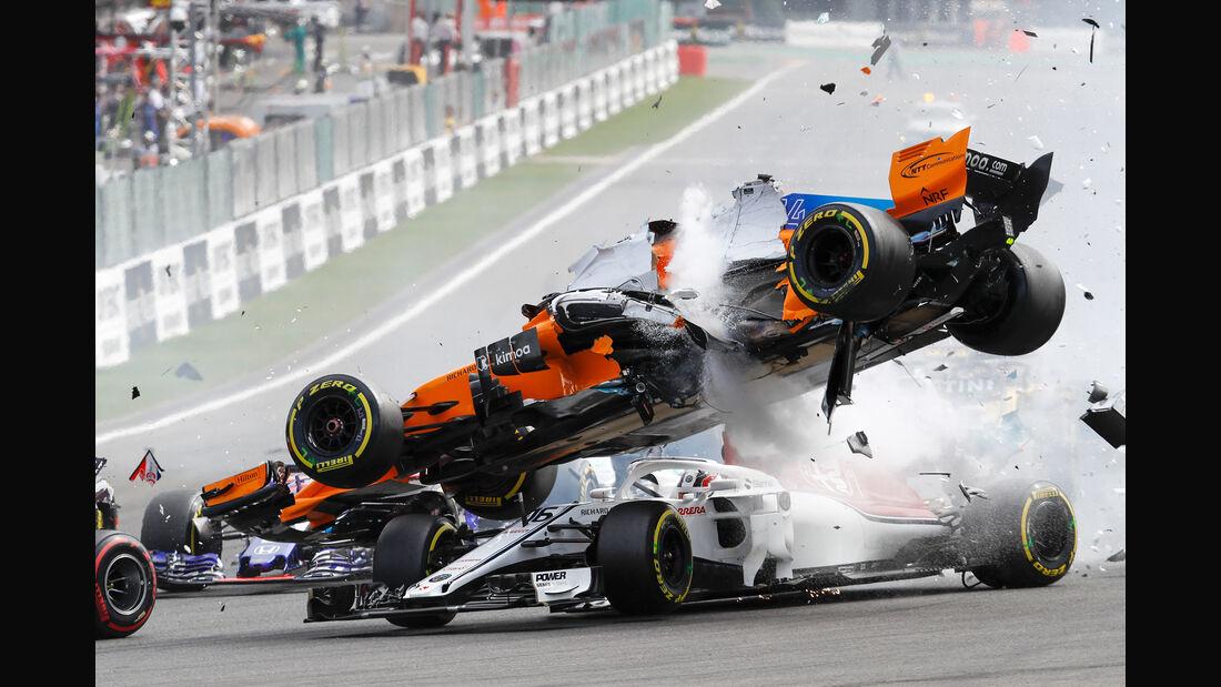 Fernando Alonso - Formel 1 - GP Belgien 2018