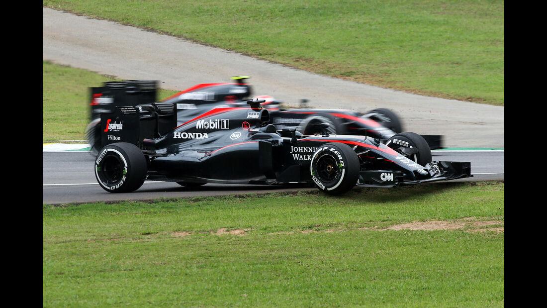 Fernando Alonso - Formel 1 - GP Brasilien- 13. November 2015
