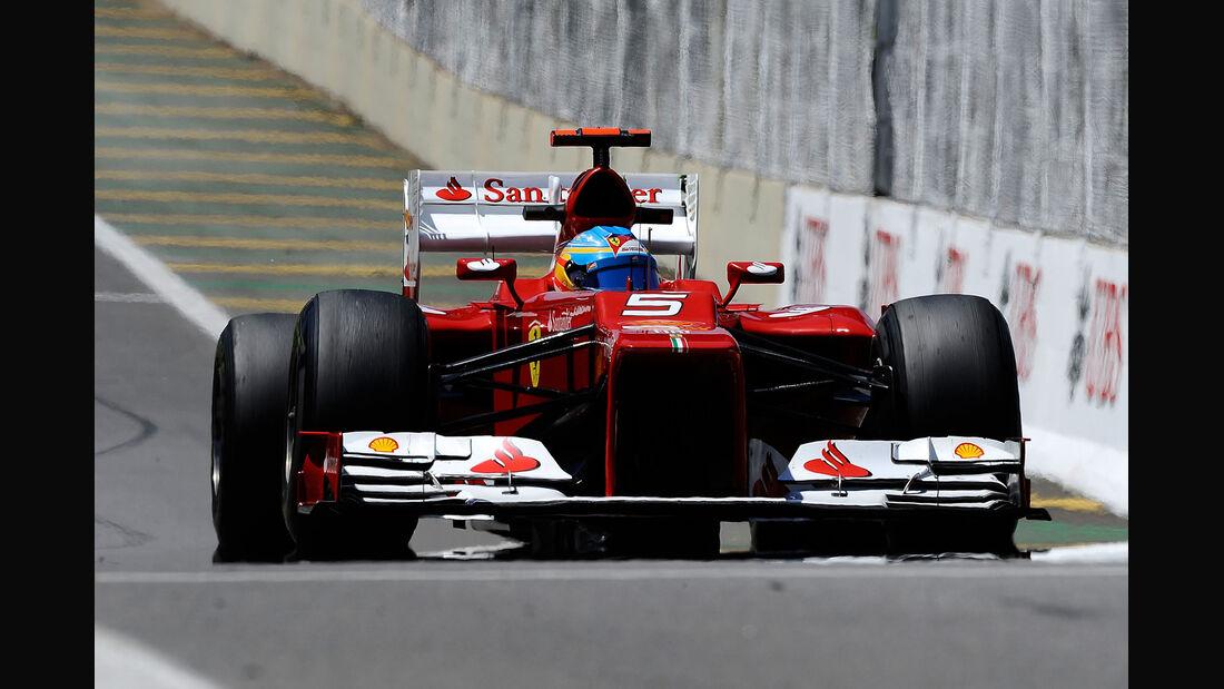 Fernando Alonso Formel 1 GP Brasilien 2012