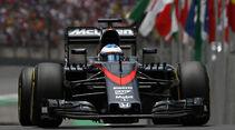 Fernando Alonso - Formel 1 - GP Brasilien 2015
