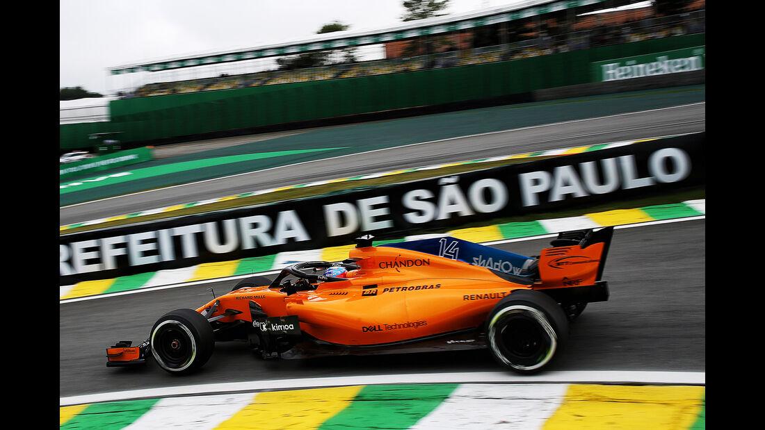 Fernando Alonso - Formel 1 - GP Brasilien 2018