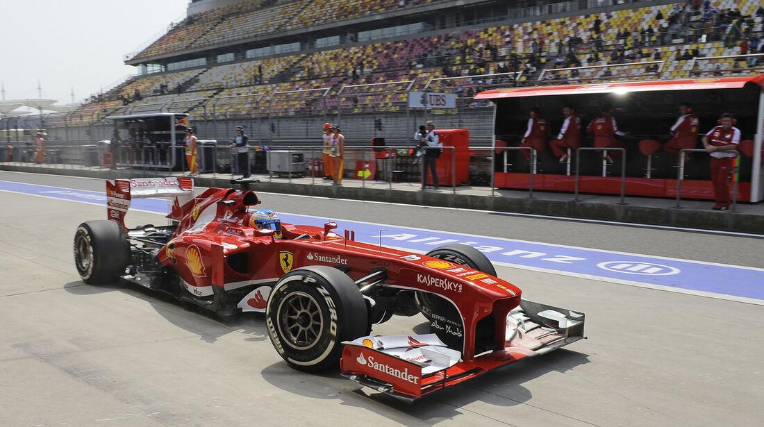 Fernando Alonso - Formel 1 - GP China -12. April 2013