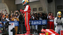 Fernando Alonso - Formel 1 - GP China - 14. April 2013