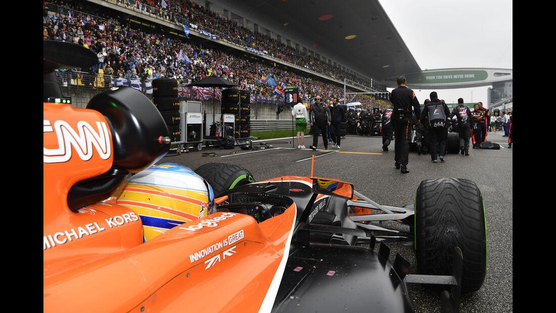 Fernando Alonso - Formel 1 - GP China 2017