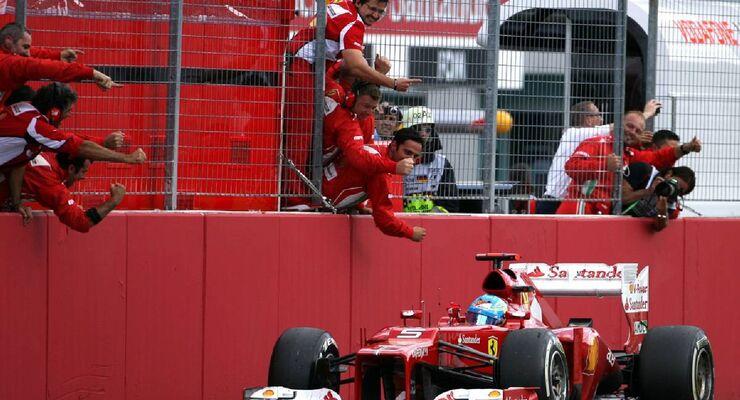 Fernando Alonso - Formel 1 - GP Deutschland - 22. Juli 2012
