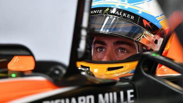Fernando Alonso - Formel 1 - GP England - 15. Juli 2017