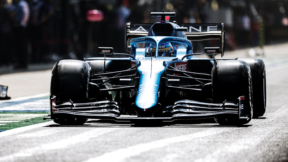 Fernando Alonso - Formel 1 - GP England 2021