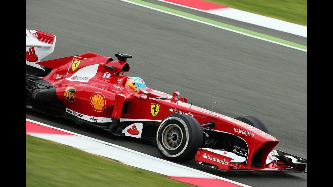 Fernando Alonso - Formel 1 - GP England - 28. Juni 2013