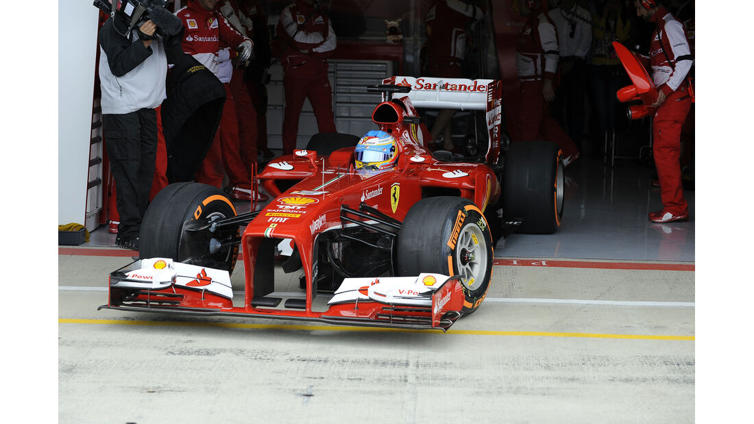 Fernando Alonso - Formel 1 - GP England - 29. Juni 2013