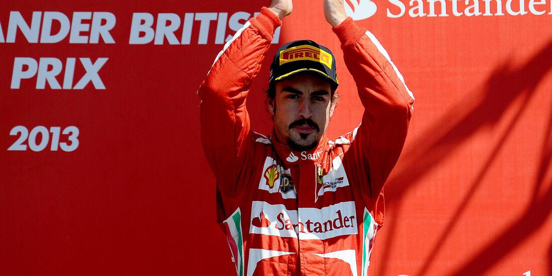 Fernando Alonso  - Formel 1 - GP England - 30. Juni 2013