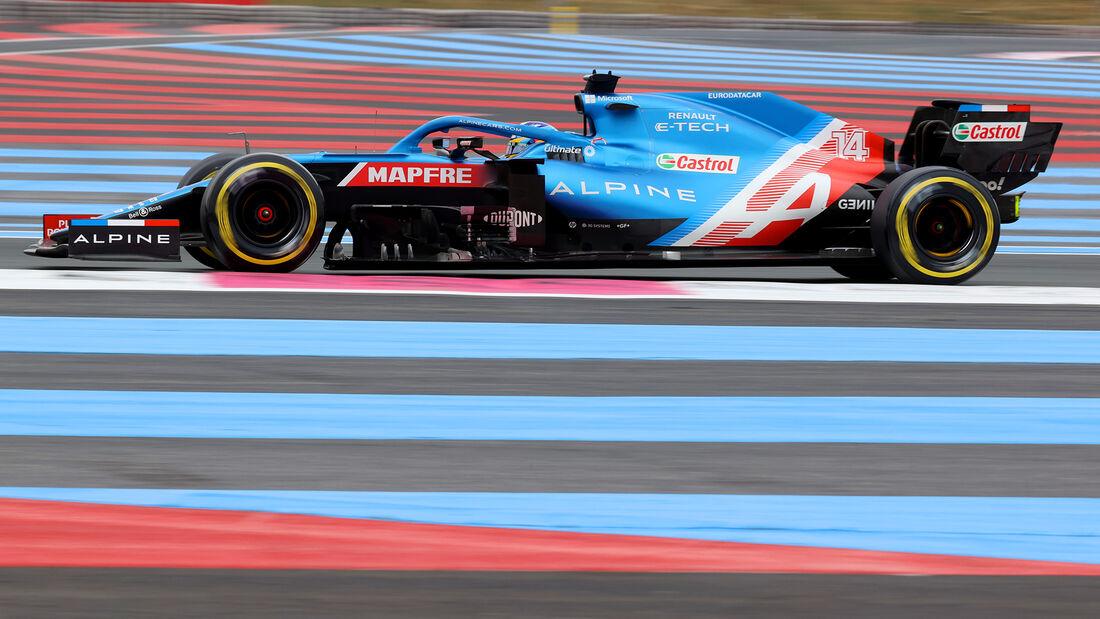 Fernando Alonso - Formel 1 - GP Frankreich 2021