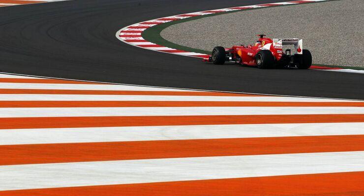 Fernando Alonso - Formel 1 - GP Indien - 26. Oktober 2012