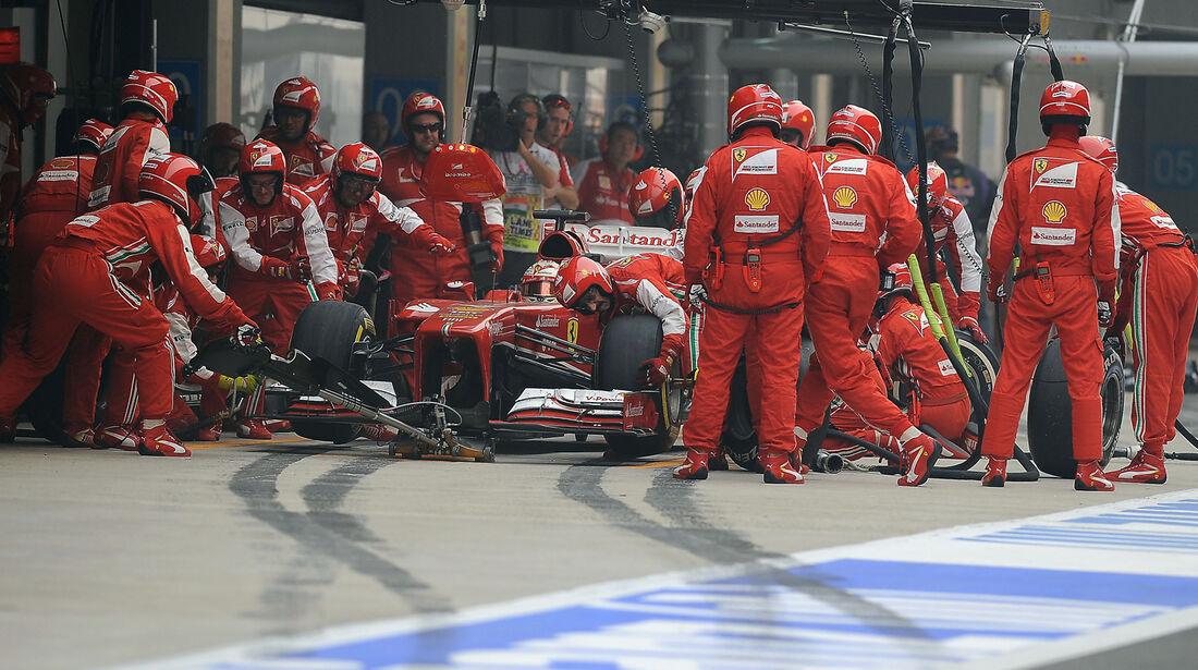 Fernando Alonso - Formel 1 - GP Indien - 27. Oktober 2013