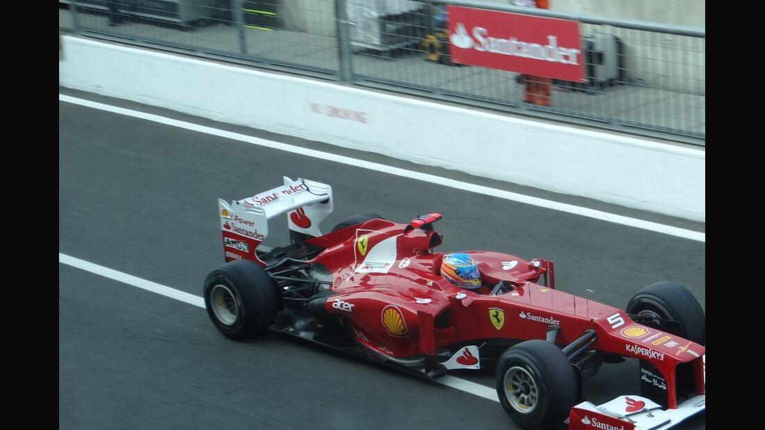 Fernando Alonso - Formel 1 - GP Italien - 7. September 2012