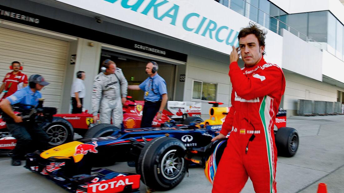Fernando Alonso - Formel 1 - GP Japan - Suzuka - 5. Oktober 2012