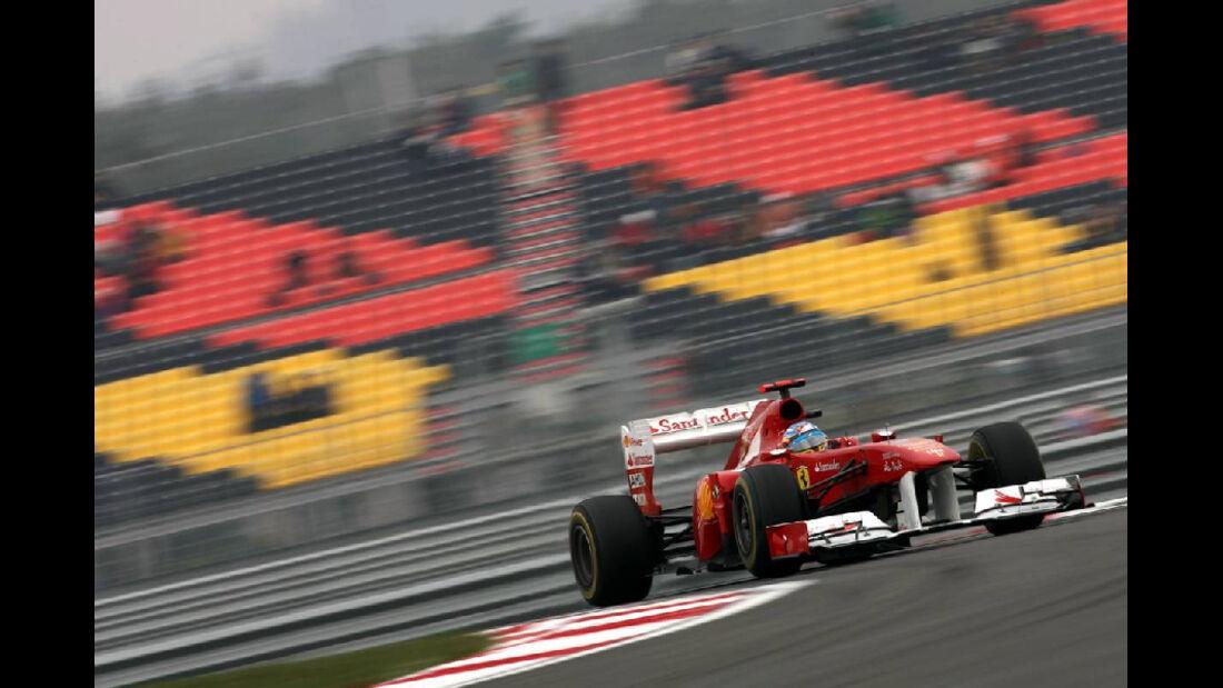 Fernando Alonso  - Formel 1 - GP Korea - 15. Oktober 2011