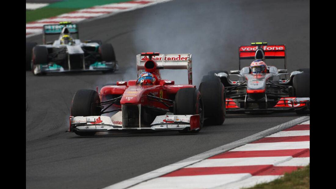 Fernando Alonso - Formel 1 - GP Korea - 16. Oktober 2011