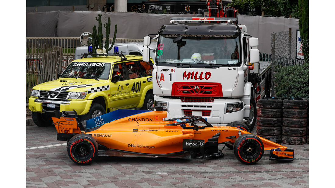 Fernando Alonso - Formel 1 - GP Monaco 2018