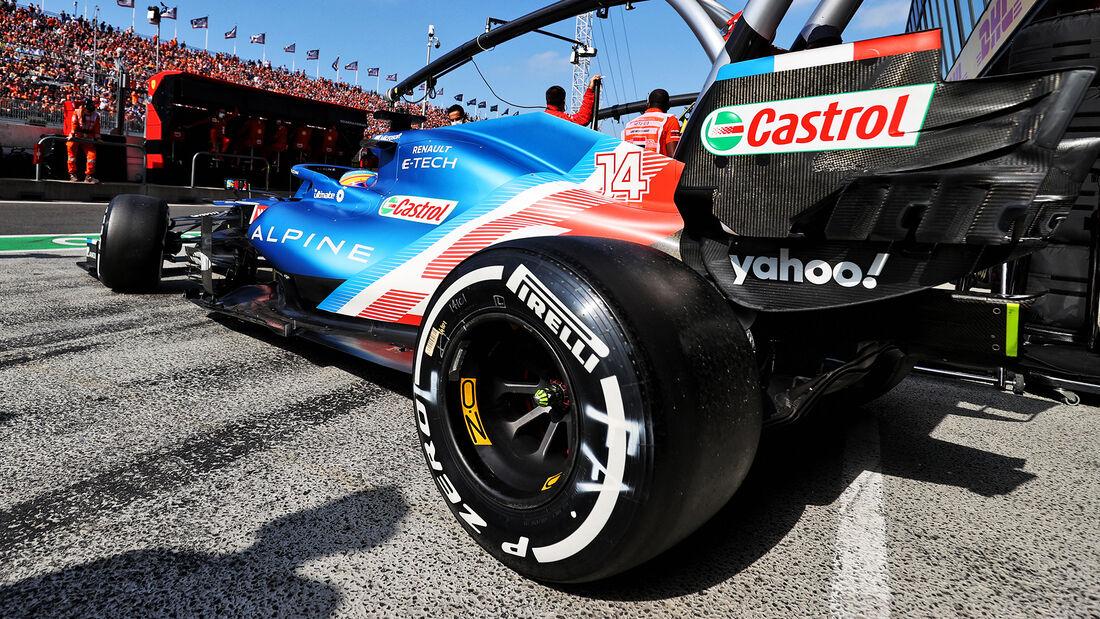 Fernando Alonso - Formel 1 - GP Niederlande - Zandvoort - 2021