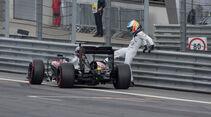 Fernando Alonso - Formel 1 - GP Österreich 2015 - Danis Bilderkiste