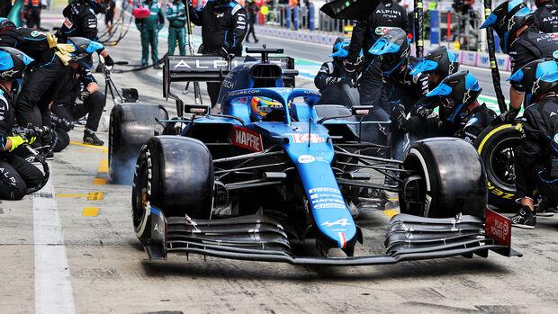 Fernando Alonso - Formel 1 - GP Österreich 2021