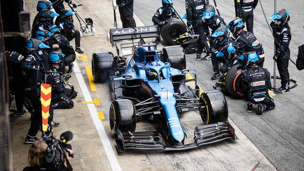 Fernando Alonso - Formel 1 - GP Spanien 2021