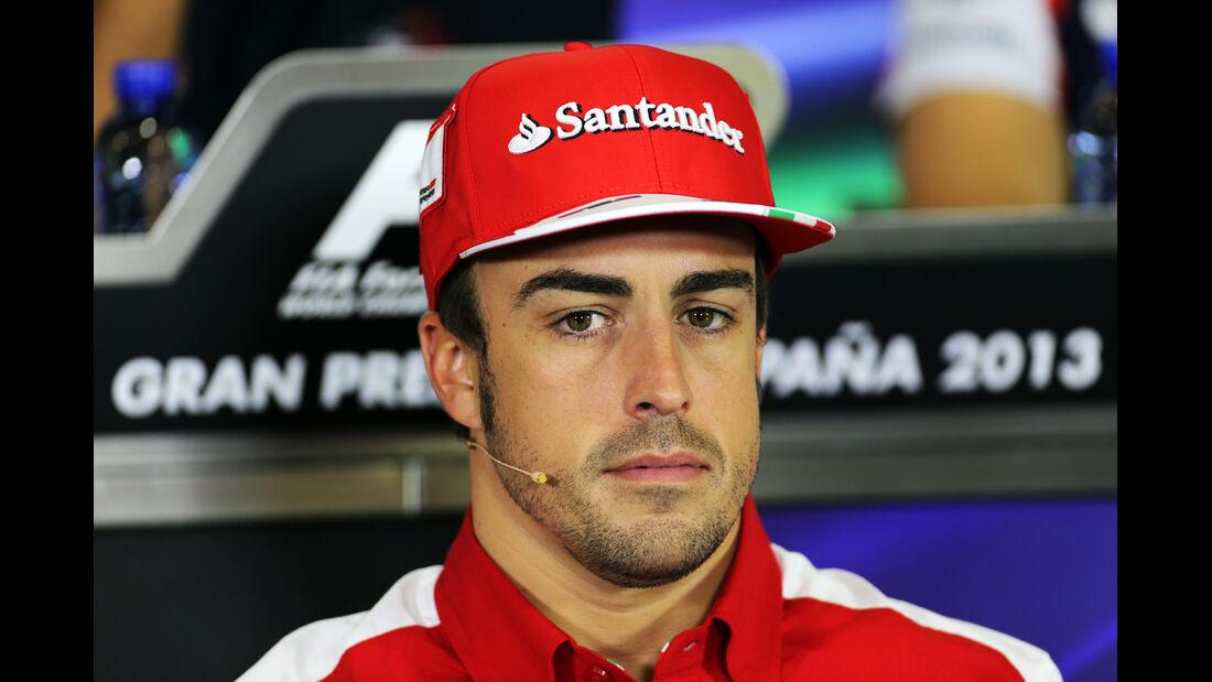 Fernando Alonso - Formel 1 - GP Spanien - 9. Mai 2013