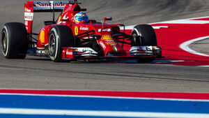 Fernando Alonso - Formel 1- GP USA - 1. November 2014