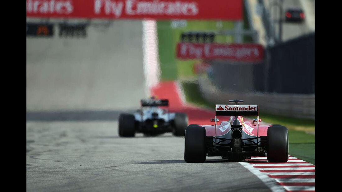 Fernando Alonso - Formel 1 - GP USA - 2. November 2014