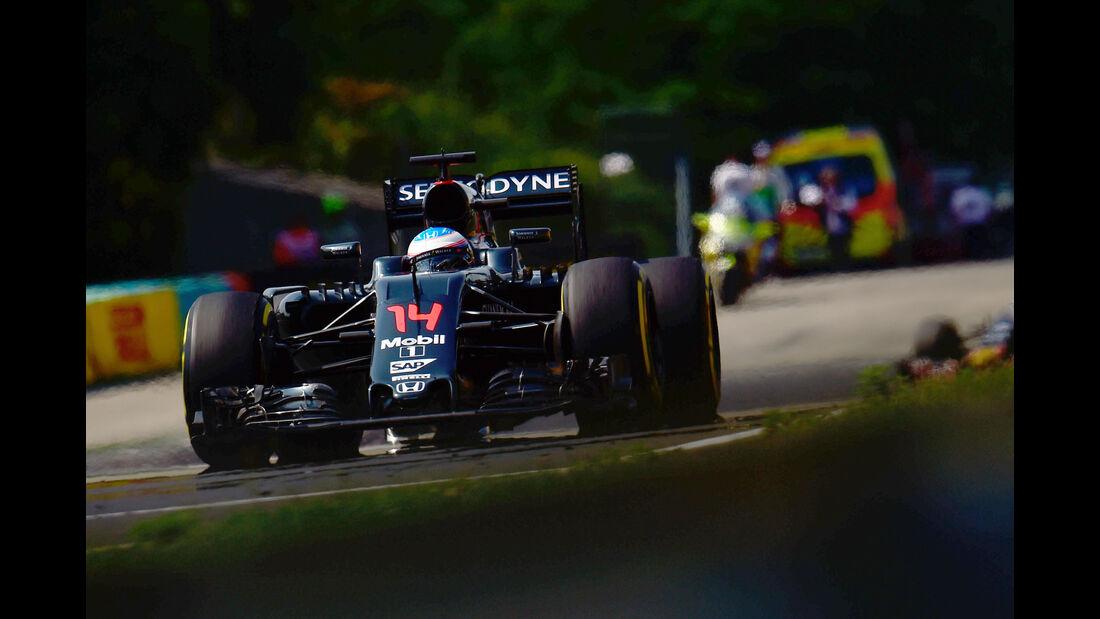 Fernando Alonso - Formel 1 - GP Ungarn 2016