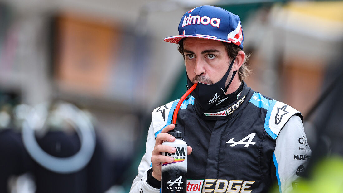 Fernando Alonso - Formel 1 - GP Ungarn - 2021