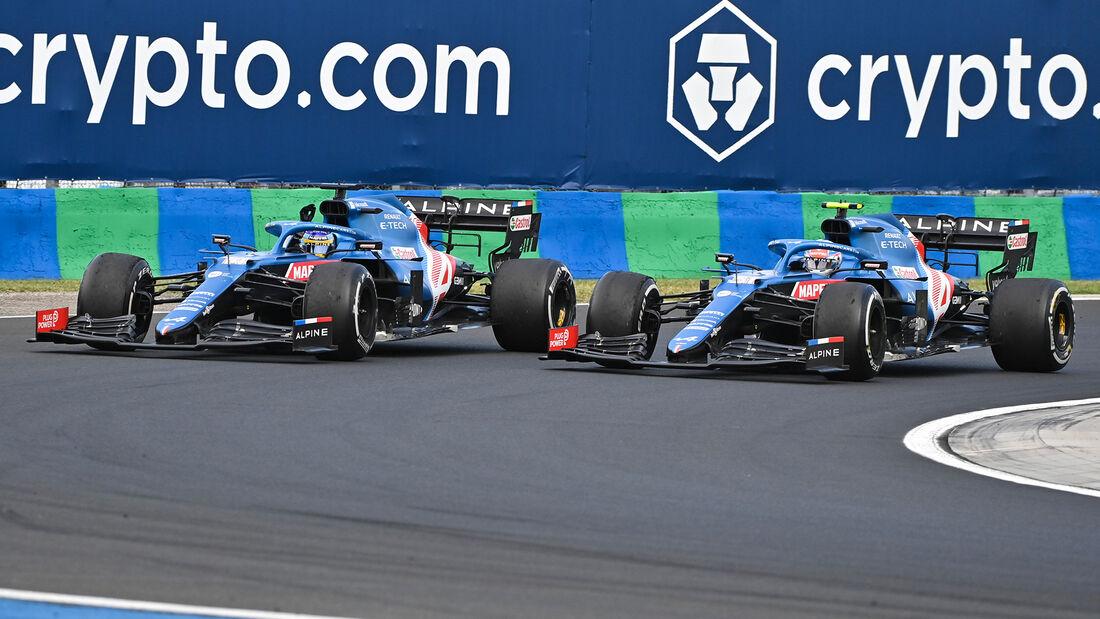 Fernando Alonso - Formel 1 - GP Ungarn 2021
