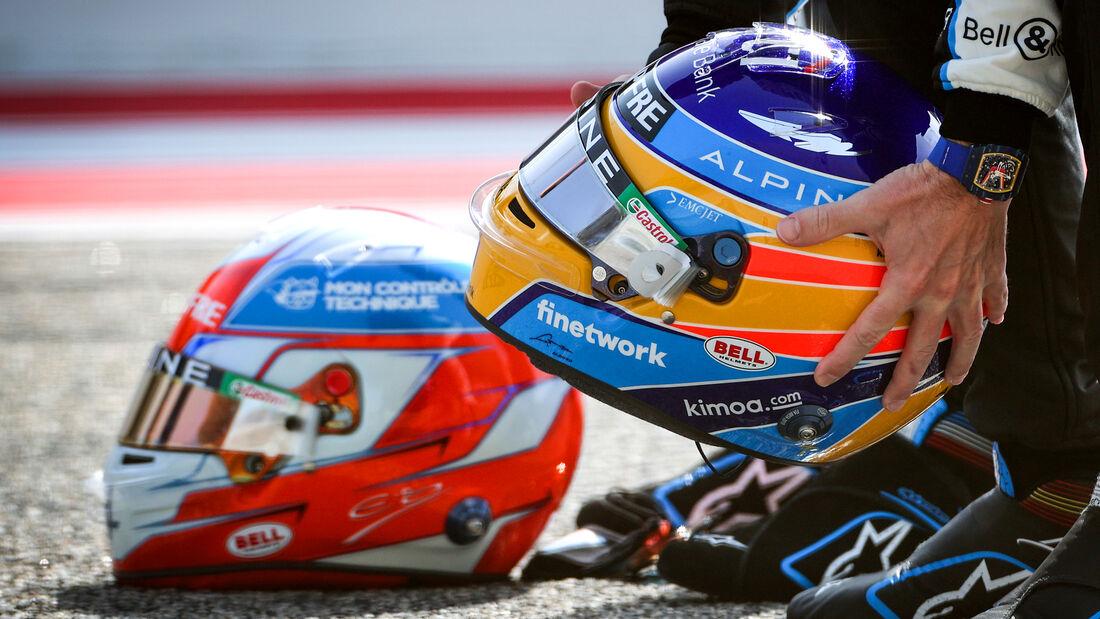 Fernando Alonso - Formel 1 - Helm - 2021