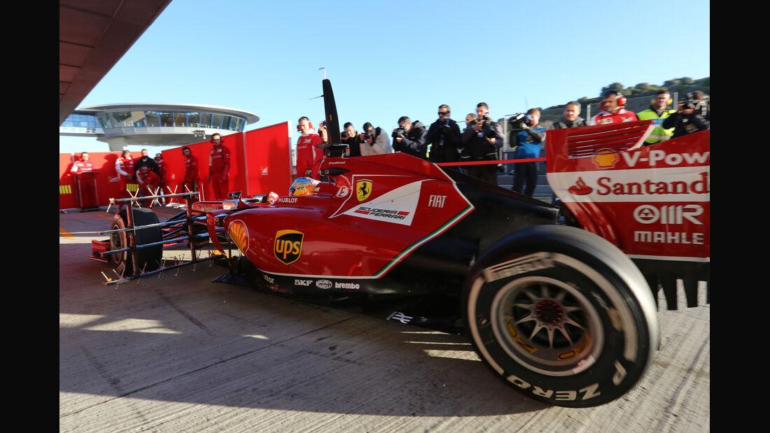 Fernando Alonso - Formel 1 - Jerez-Test 2014