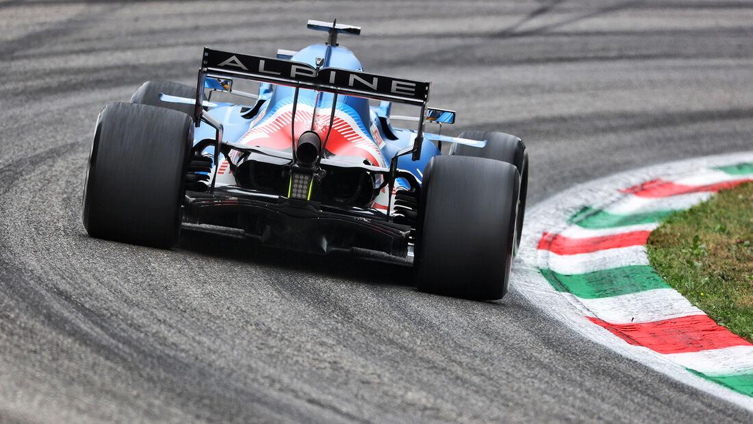 Fernando Alonso - Formel 1 - Monza - GP Italien 2021