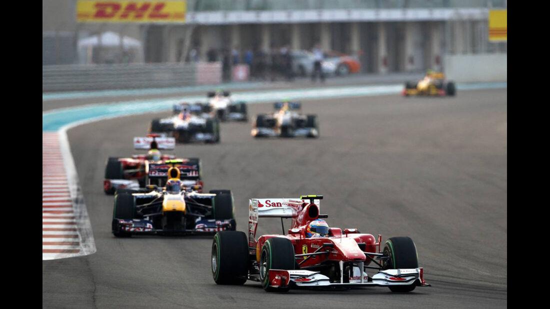 Fernando Alonso GP Abu Dhabi 2010