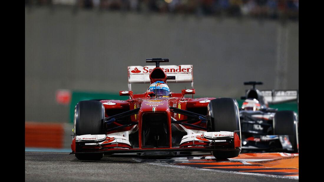 Fernando Alonso - GP Abu Dhabi 2013