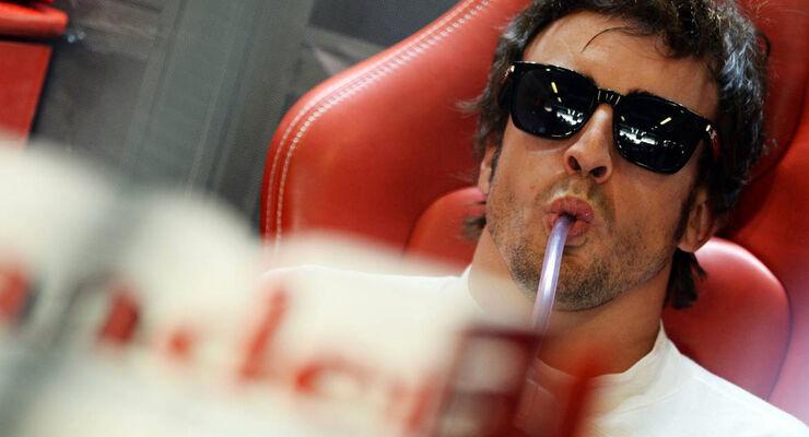 Fernando Alonso GP Abu Dhabi 2013