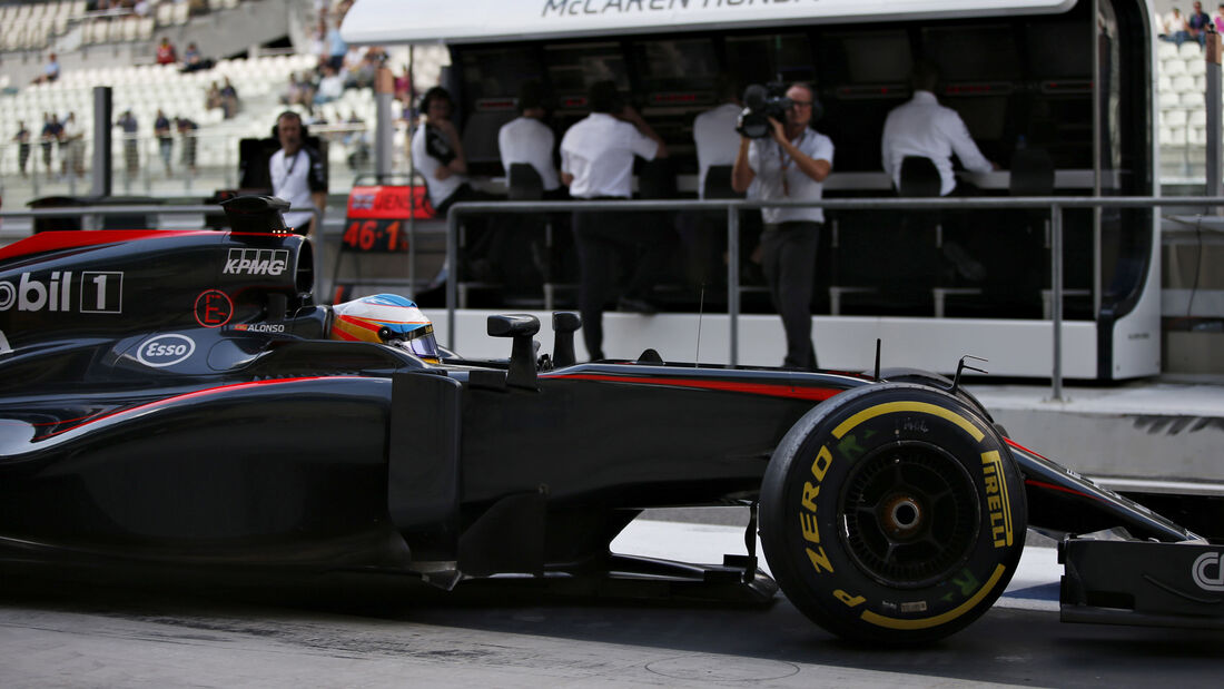 Fernando Alonso - GP Abu Dhabi 2015