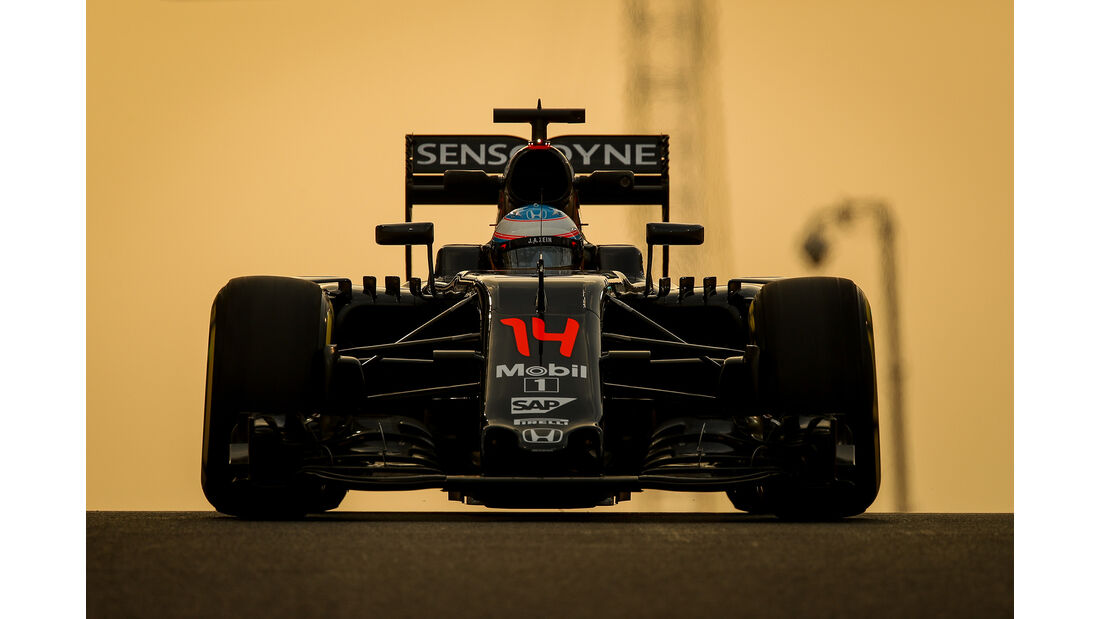 Fernando Alonso - GP Abu Dhabi 2016