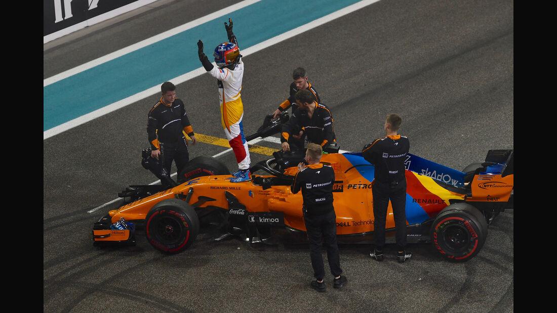 Fernando Alonso - GP Abu Dhabi 2018