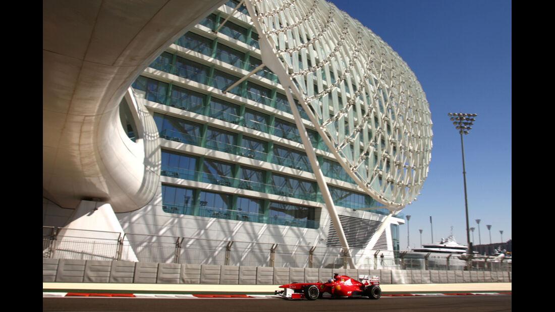 Fernando Alonso - GP Abu Dhabi - Freies Training - 11. November 2011
