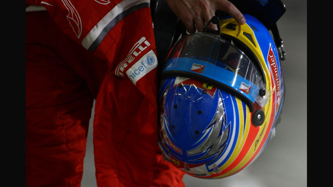 Fernando Alonso - GP Abu Dhabi - Freies Training - 11. November 2011
