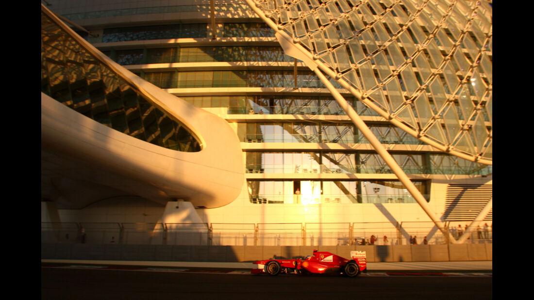 Fernando Alonso - GP Abu Dhabi - Qualifying - 12.11.2011