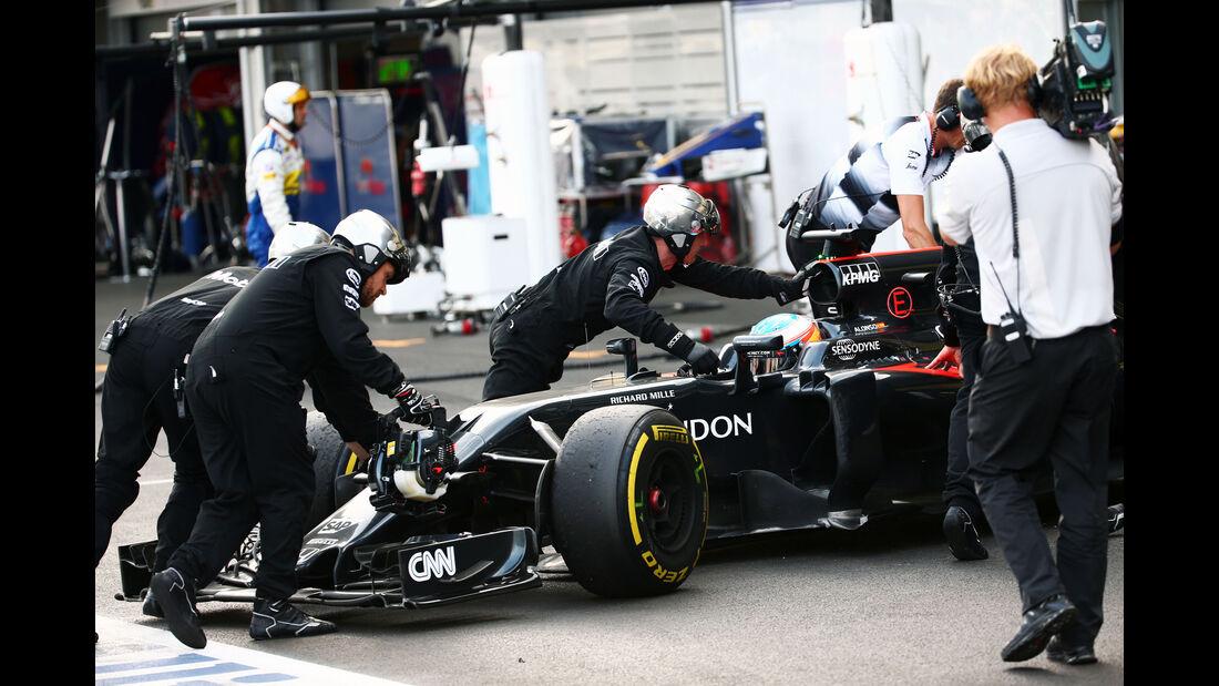Fernando Alonso - GP Aserbaidschan - Formel 1 - 2016