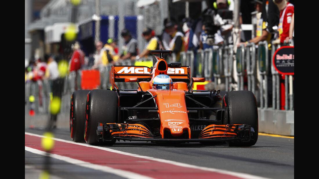 Fernando Alonso - GP Australien 2017