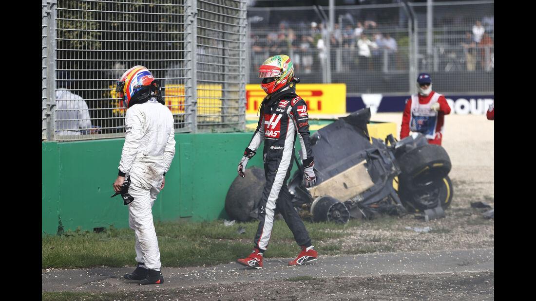 Fernando Alonso - GP Australien - Crash - 2016