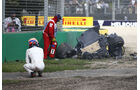 Fernando Alonso - GP Australien - Crash - 2016