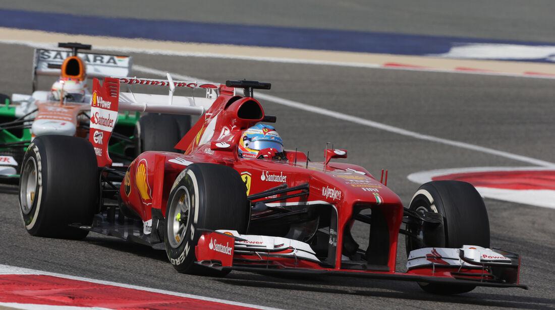 Fernando Alonso - GP Bahrain 2013