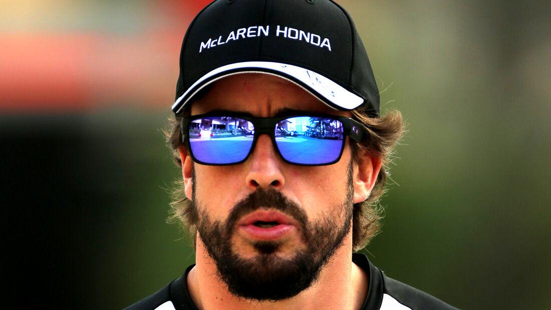 Fernando Alonso - GP Bahrain 2015